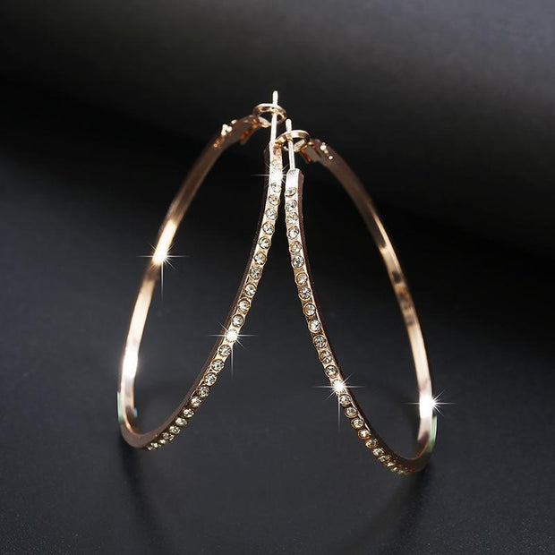 Circle Shape Studded Earrings