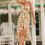Sling Printed Holiday Dress - Shop Shiningbabe - Womens Fashion Online Shopping Offering Huge Discounts on Shoes - Heels, Sandals, Boots, Slippers; Clothing - Tops, Dresses, Jumpsuits, and More.