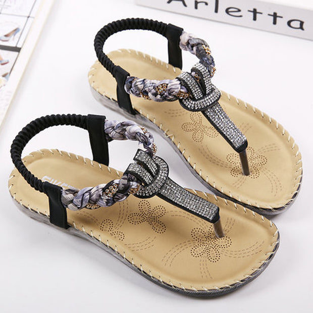 T-strap Flip Flops Thong Sandals - Shop Shiningbabe - Womens Fashion Online Shopping Offering Huge Discounts on Shoes - Heels, Sandals, Boots, Slippers; Clothing - Tops, Dresses, Jumpsuits, and More.