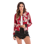 Casual Flying Crane Print Jacket - Shop Shiningbabe - Womens Fashion Online Shopping Offering Huge Discounts on Shoes - Heels, Sandals, Boots, Slippers; Clothing - Tops, Dresses, Jumpsuits, and More.