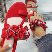Fashion Toe Ring Flower Design Platform Heels - Shop Shiningbabe - Womens Fashion Online Shopping Offering Huge Discounts on Shoes - Heels, Sandals, Boots, Slippers; Clothing - Tops, Dresses, Jumpsuits, and More.