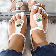 Fashion Pineapple Rhinestone Flip Flops - Shop Shiningbabe - Womens Fashion Online Shopping Offering Huge Discounts on Shoes - Heels, Sandals, Boots, Slippers; Clothing - Tops, Dresses, Jumpsuits, and More.