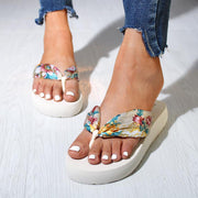 Fashion Ribbon Platform Sandals Flip Flops - Shop Shiningbabe - Womens Fashion Online Shopping Offering Huge Discounts on Shoes - Heels, Sandals, Boots, Slippers; Clothing - Tops, Dresses, Jumpsuits, and More.
