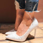 Sequin Pointed Party High Heels - Shop Shiningbabe - Womens Fashion Online Shopping Offering Huge Discounts on Shoes - Heels, Sandals, Boots, Slippers; Clothing - Tops, Dresses, Jumpsuits, and More.