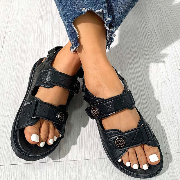 Women's Fashion Cute Circle Sandals Slippers - Shop Shiningbabe - Womens Fashion Online Shopping Offering Huge Discounts on Shoes - Heels, Sandals, Boots, Slippers; Clothing - Tops, Dresses, Jumpsuits, and More.