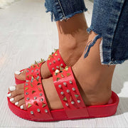 Metal Chain Rivet Platform Sandals - Shop Shiningbabe - Womens Fashion Online Shopping Offering Huge Discounts on Shoes - Heels, Sandals, Boots, Slippers; Clothing - Tops, Dresses, Jumpsuits, and More.