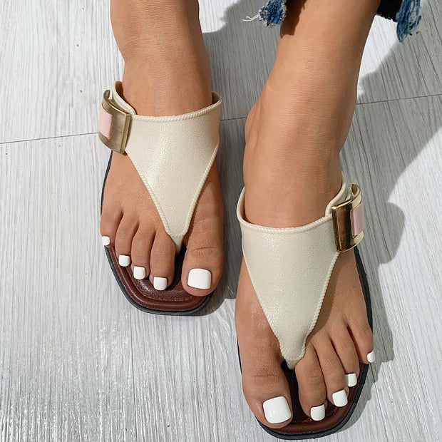 Fashion Flat flip flop sandals - Shop Shiningbabe - Womens Fashion Online Shopping Offering Huge Discounts on Shoes - Heels, Sandals, Boots, Slippers; Clothing - Tops, Dresses, Jumpsuits, and More.