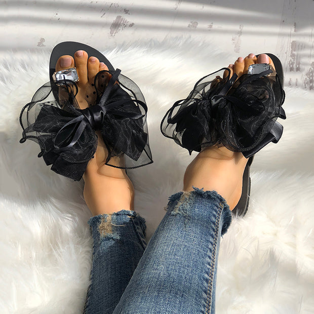 Women's Cute Bowtie Decorate Non-Slip Sandals - Shop Shiningbabe - Womens Fashion Online Shopping Offering Huge Discounts on Shoes - Heels, Sandals, Boots, Slippers; Clothing - Tops, Dresses, Jumpsuits, and More.