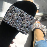 Fashion Pearl Beach Flat Sandals - Shop Shiningbabe - Womens Fashion Online Shopping Offering Huge Discounts on Shoes - Heels, Sandals, Boots, Slippers; Clothing - Tops, Dresses, Jumpsuits, and More.