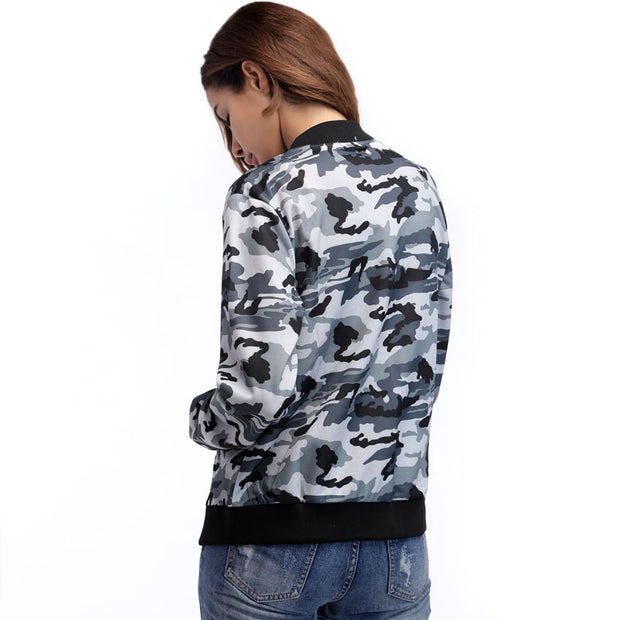 Women Fashion Camouflage Jacket - Shop Shiningbabe - Womens Fashion Online Shopping Offering Huge Discounts on Shoes - Heels, Sandals, Boots, Slippers; Clothing - Tops, Dresses, Jumpsuits, and More.