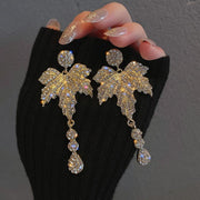 Fashion Vintage Studded Drop Earrings