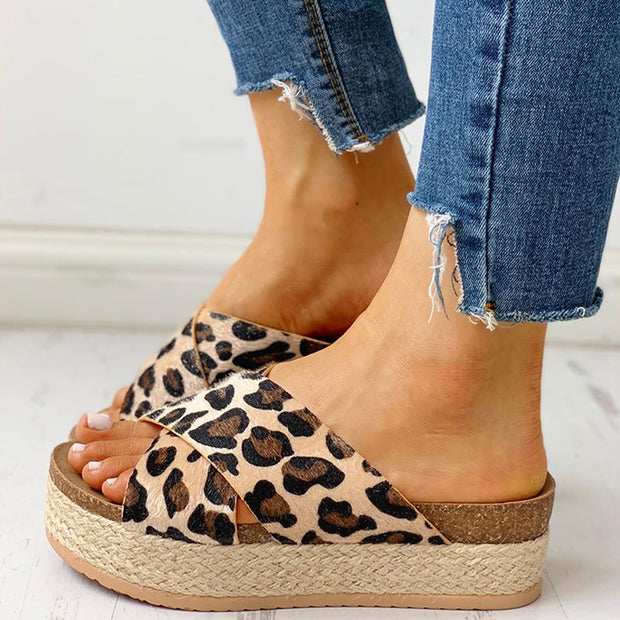 Crisscross Design Espadrille Platform Sandals - Shop Shiningbabe - Womens Fashion Online Shopping Offering Huge Discounts on Shoes - Heels, Sandals, Boots, Slippers; Clothing - Tops, Dresses, Jumpsuits, and More.