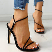 Open Toe Slingback Thin Heeled Sandals - Shop Shiningbabe - Womens Fashion Online Shopping Offering Huge Discounts on Shoes - Heels, Sandals, Boots, Slippers; Clothing - Tops, Dresses, Jumpsuits, and More.