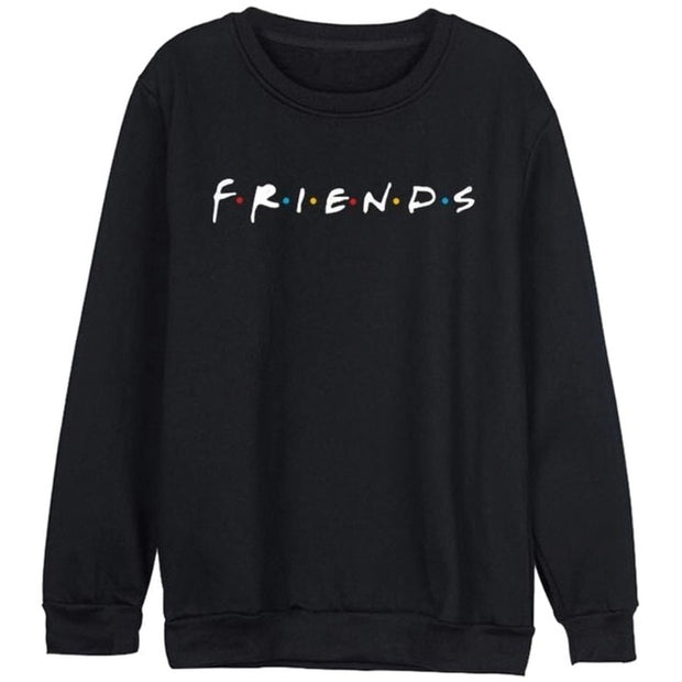 Casual Letter Print O-Neck Sweatshirt - Shop Shiningbabe - Womens Fashion Online Shopping Offering Huge Discounts on Shoes - Heels, Sandals, Boots, Slippers; Clothing - Tops, Dresses, Jumpsuits, and More.