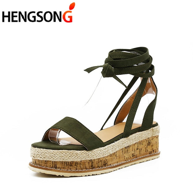 Summer Women Open Toe Strap Platform Sandals - Shop Shiningbabe - Womens Fashion Online Shopping Offering Huge Discounts on Shoes - Heels, Sandals, Boots, Slippers; Clothing - Tops, Dresses, Jumpsuits, and More.