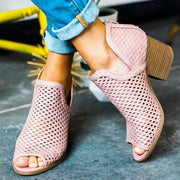Hollow Fish Mouth Open Toe High Heel Sandals - Shop Shiningbabe - Womens Fashion Online Shopping Offering Huge Discounts on Shoes - Heels, Sandals, Boots, Slippers; Clothing - Tops, Dresses, Jumpsuits, and More.