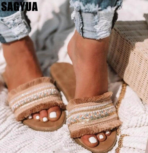 Women's New Rome Retro Sandals Flat - Shop Shiningbabe - Womens Fashion Online Shopping Offering Huge Discounts on Shoes - Heels, Sandals, Boots, Slippers; Clothing - Tops, Dresses, Jumpsuits, and More.
