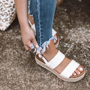 PU Leopard Buckle Strap Platform Sandals - Shop Shiningbabe - Womens Fashion Online Shopping Offering Huge Discounts on Shoes - Heels, Sandals, Boots, Slippers; Clothing - Tops, Dresses, Jumpsuits, and More.