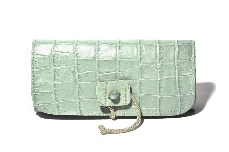 Jewel clutch. Pochette gioiello. Fellan - front view.
