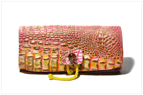 Jewel clutch. Pochette gioiello. Flurish - front view