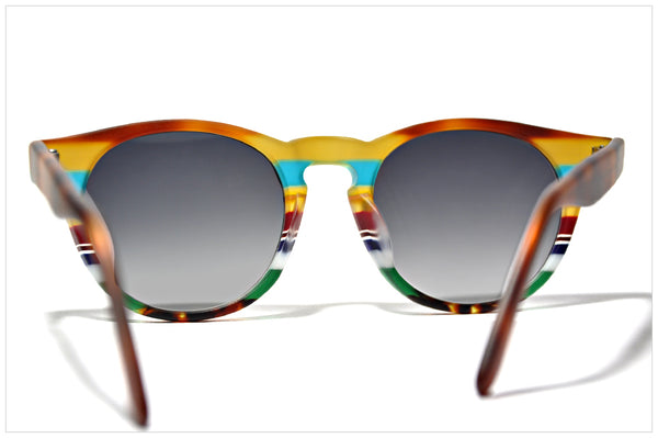 Occhiali da sole - Multicolor sunglasses by Pollipò - ONDA 5S