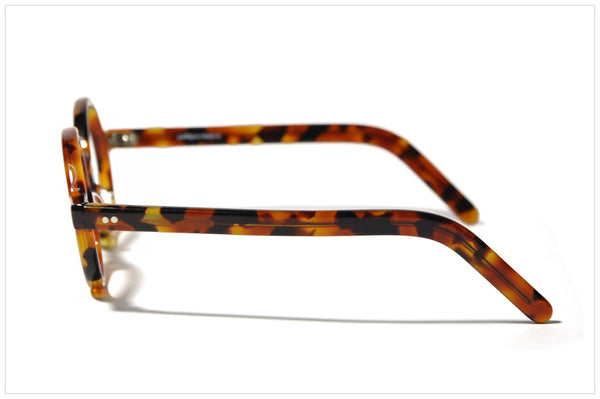 Pollipò P515-252 side view. Occhiali fatti a mano in Italia - Eyewear handmade in Italy