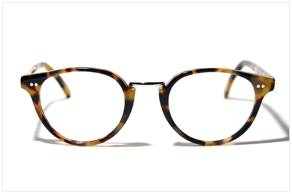 Eyewear handmade in Italy. Pollipò P595-02 front view