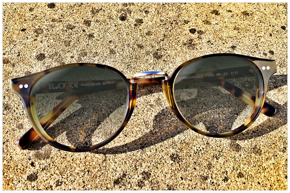 Sunglasses handmade in Italy - style n. 595-11