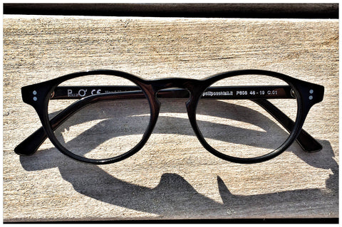 Shopping online occhiali Made in Italy - Pollipò P601 in acetato nero