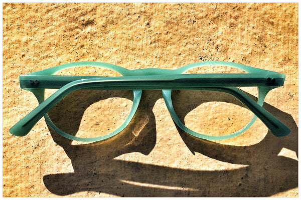 Pollipò 603-02 back view - eyewear handmade in Italy