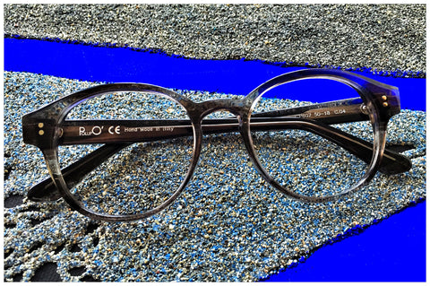 Pollipò 607-04 in acetato Crystal Grey