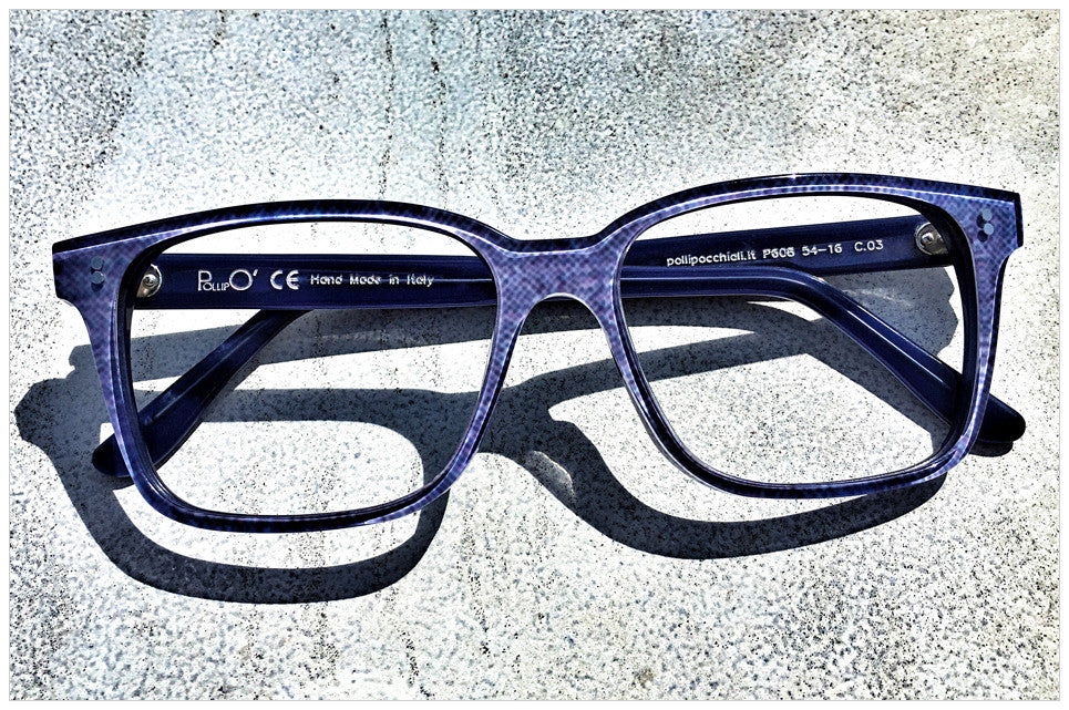Denim Blue eyewear style n. 608 - Pollipò