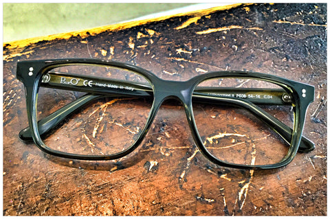 Handcrafted eyewear by Pollipò Italy - Style 608