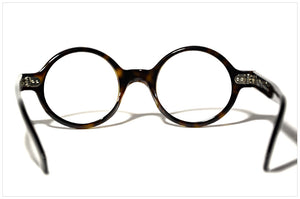 P619 in Tortoiseshell classic dark by Pollipò Occhiali