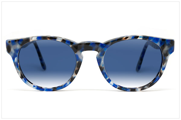 Occhiali da sole artigianali by Pollipò Eyewear - P620 Marbleized Bliss