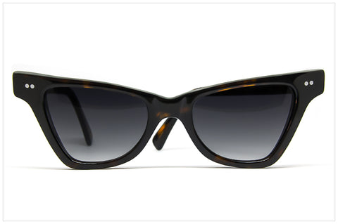Occhiali da sole cat eye - Handmade in Italy - VELA 4 SUN