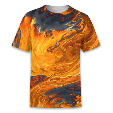 Molten Marble T-Shirt - OmniWear