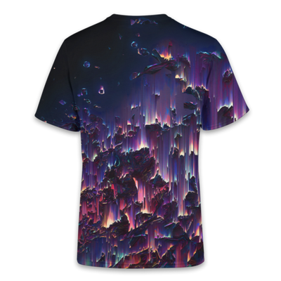 Acid Glitch T-Shirt - OmniWear