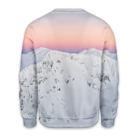 Winter Sunset Sweatshirt - OmniWear