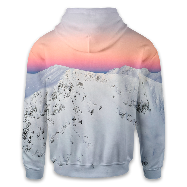 Winter Sunset Hoodie
