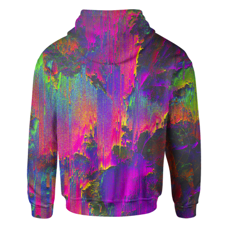 Iridescent Oil Paint Hoodie