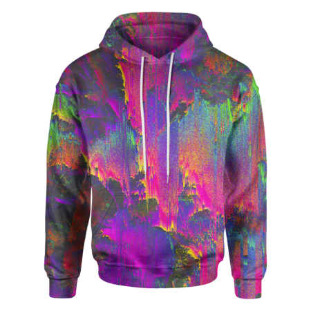 Iridescent Oil Paint Hoodie - OmniWear