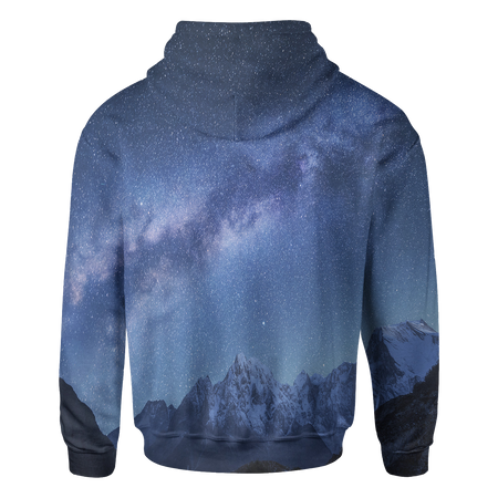 Space Mountains Hoodie - OmniWear