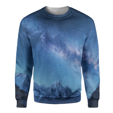 Space Mountains Sweatshirt - OmniWear