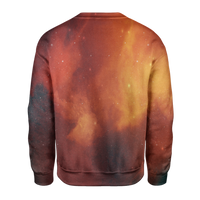 Orange Galaxy Sweatshirt - OmniWear