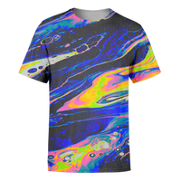Blue Acid T-Shirt - OmniWear