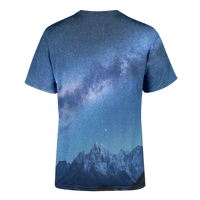 Space Mountains T-Shirt - OmniWear