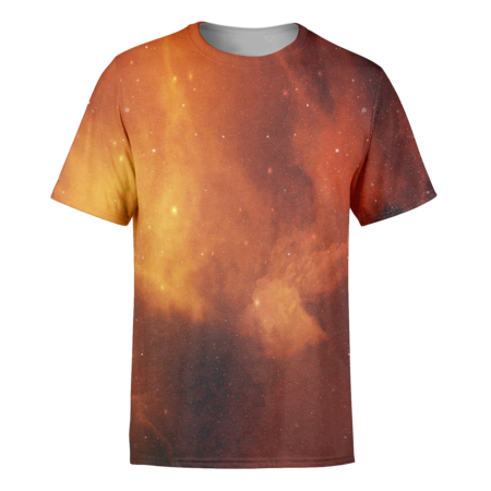 Orange Galaxy T-Shirt - OmniWear