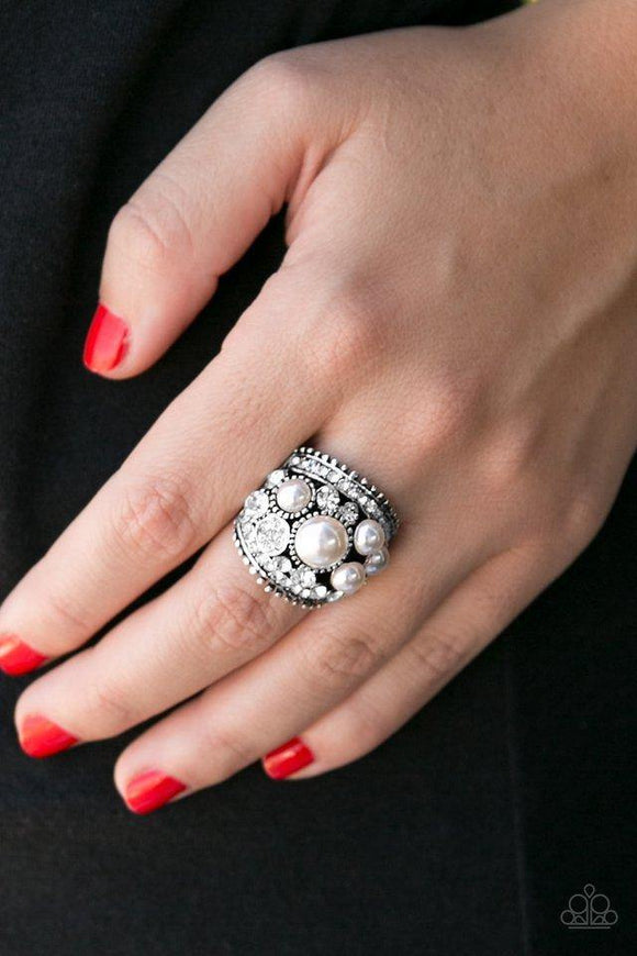 money-on-my-mind-white-ring-paparazzi-accessories