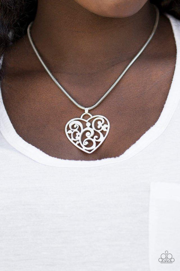 filigree-your-heart-with-love-silver-necklace-paparazzi-accessories